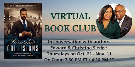 Ricardo's Collisions Virtual Book Club tickets