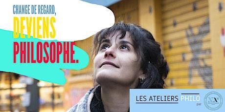 La philosophie, un art de vivre - Cycle d'ateliers philo billets