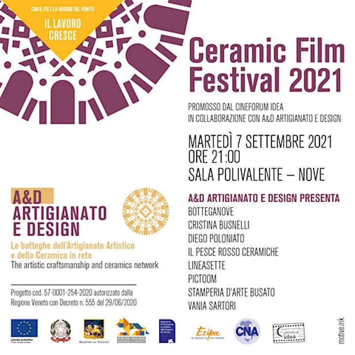 Immagine Ceramic Film Festival 2021