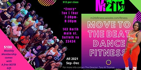 Move To The Beat Dance Fitness Class tickets