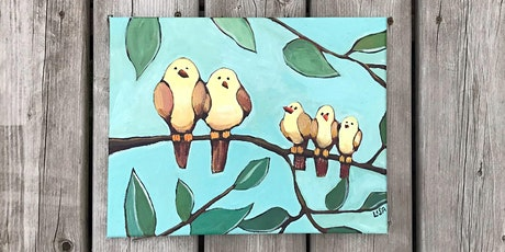 Family of Birds - Acrylic Painting Workshop with Lisa Leskien tickets