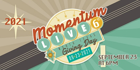 Cafe Momentum Presents: Momentum Live! on North Texas Giving Day tickets