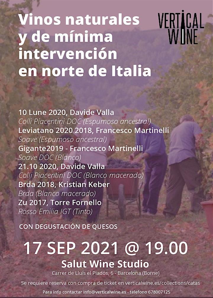 Imagen de TASTING: VINOS NATURALES Y DE MÍNIMA INTERVENCIÓN
