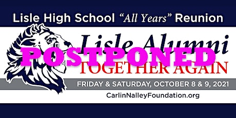 """Postponed Lisle All Years Reunion """"Together Again"""" tickets"""