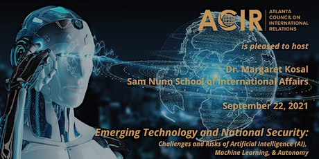Emerging Technology and National Security tickets