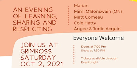 An Evening of  Indigenous Artists tickets