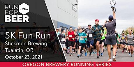 Beer Run - Stickmen Brewing | 2021 OR Brewery Running Series tickets