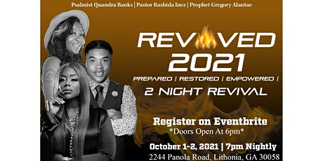 REVIVED 2021 (2 NIGHT REVIVAL) tickets