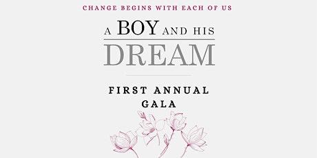 A Boy and His Dream First Annual Gala 2021 tickets