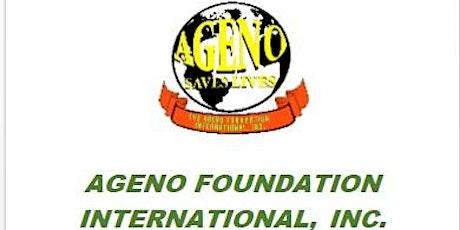 Ageno Foundation 10 Year Anniversary Virtual Gala Fundraising Event. tickets