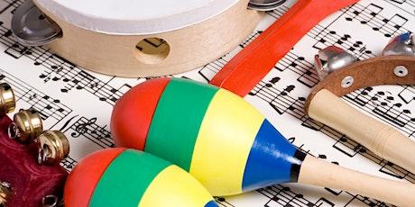 JUGUEM AMB LA MÚSICA Taller d'estimulació musical infantil entradas