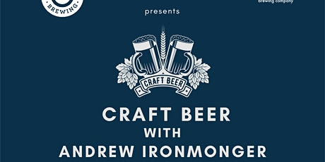 Craft Beer With Andrew Ironmonger tickets