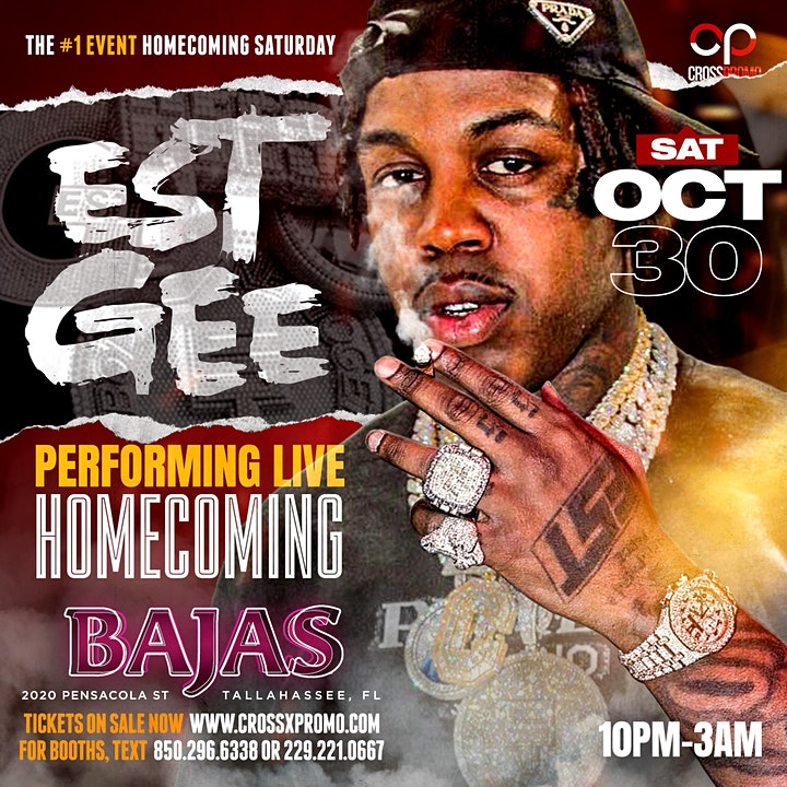 EST GEE PERFORMING LIVE HOMECOMING SATURDAY image