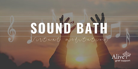 Sound Bath Meditation (Virtual Event) tickets