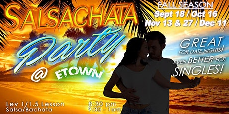 SALSACHATA DANCE PARTY tickets