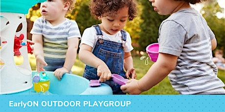 EarlyON Outdoor Playgroup tickets