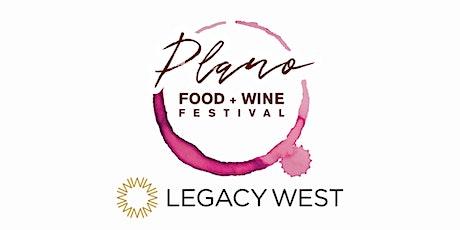 4th Annual Plano Food + Wine Festival tickets