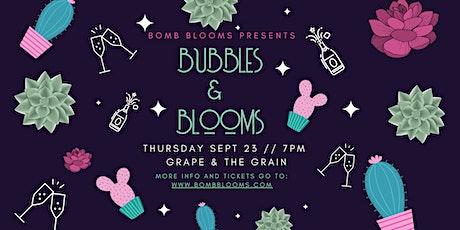 Bubbles & Blooms: Create your own succulent arrangement workshop tickets