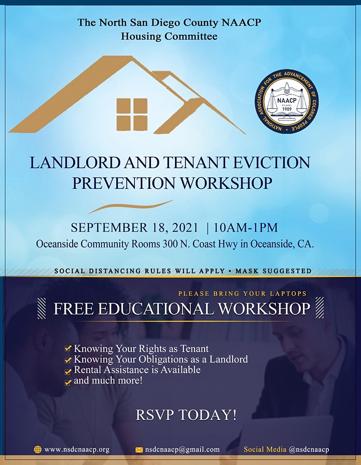 Landlord and Tenant Eviction Prevention Workshop image