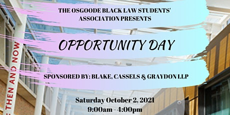 Opportunity Day tickets