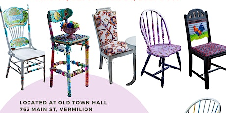 CHAIR-ity Auction and Fundraising Event for Harbourtown Fine  Arts Center tickets