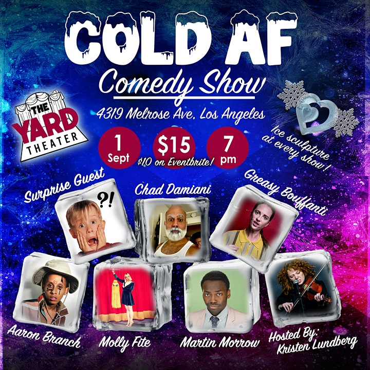 Cold AF Comedy Show image
