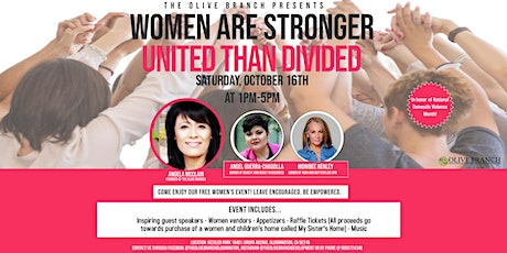 Women Are Stronger United Than Divided tickets