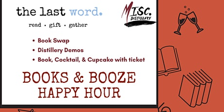 Fall Books & Booze Happy Hour tickets