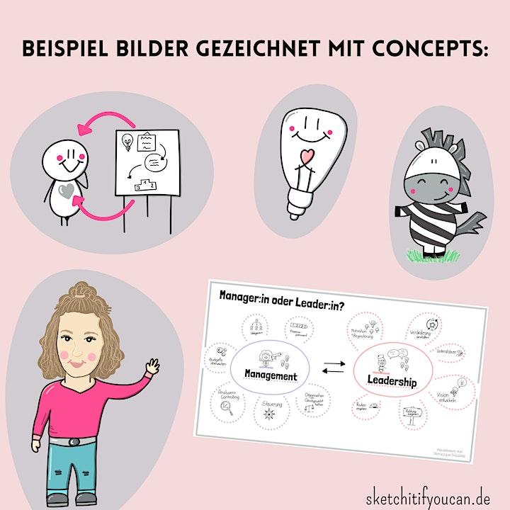 Digitales Zeichnen mit der App Concepts - die wichtigsten Basics: Bild