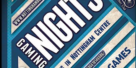 Nottingham Boardgaming Nights tickets