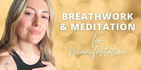 LIVESTREAM | Breathwork & Meditation  For Manifestation Tickets