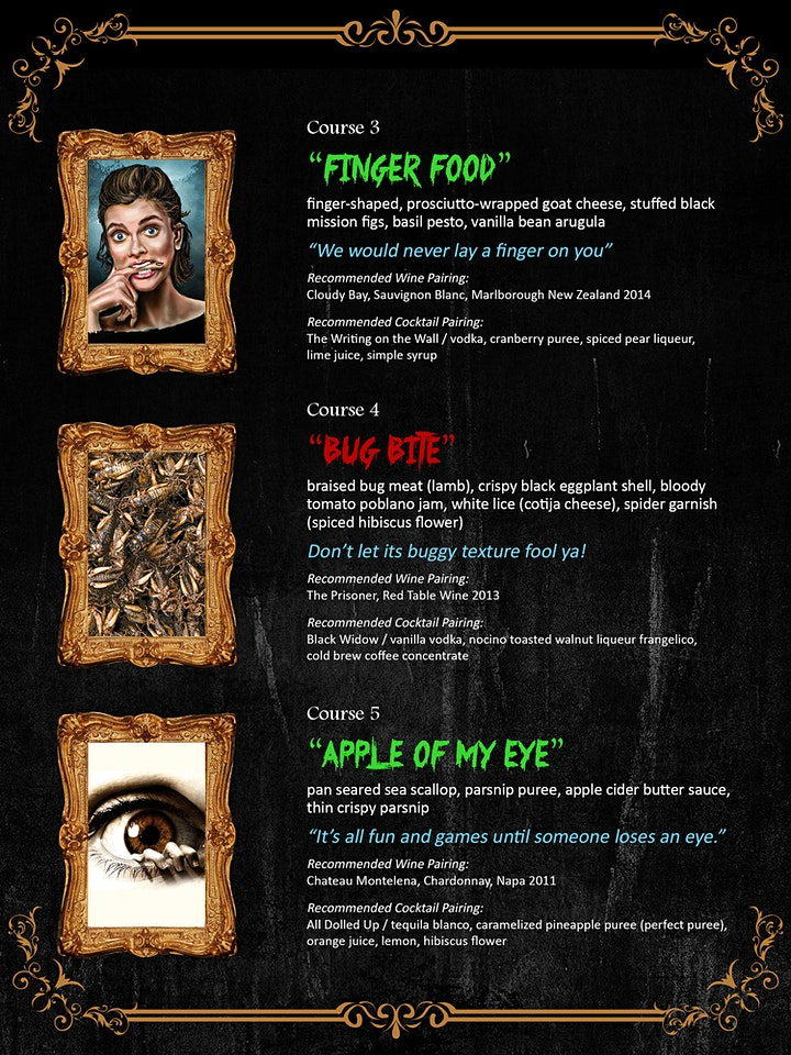 The Haunted Dinner: A Spooktacular Dinner Theatre Experience - SOLD OUT!!! image