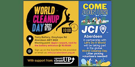 JCI Aberdeen World Cleanup Day 2021 tickets