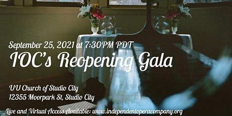 Independent Opera Company's Reopening Gala: LiveStream Access tickets