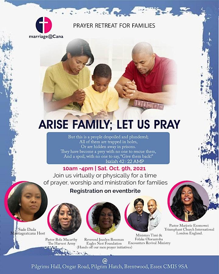 Arise Families let us pray! image