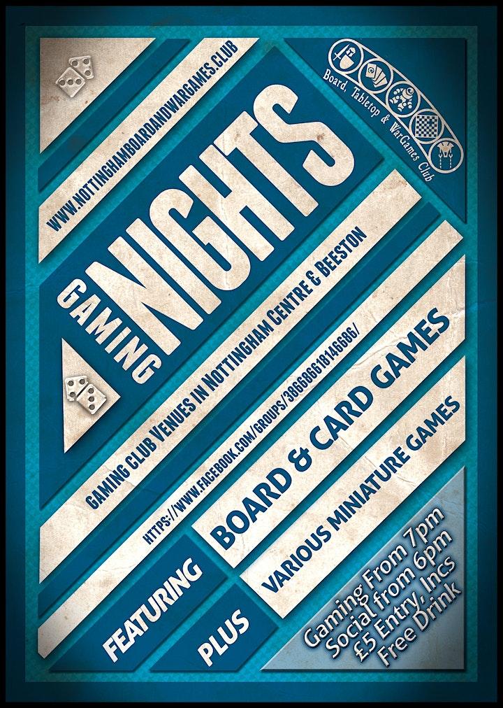 Nottingham Boardgaming Nights image