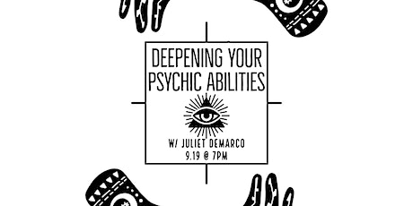 Deepening Your Psychic Abilites tickets