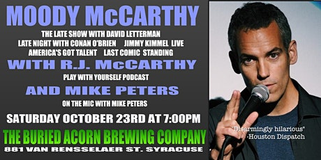 Homebrewed Comedy Premium Brew with Moody McCarthy at The Buried Acorn tickets