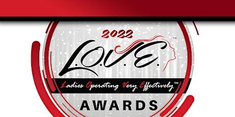 2022 L.O.V.E. Awards tickets