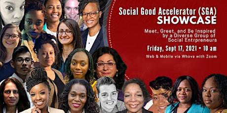 Social Good Accelerator (SGA) Showcase tickets
