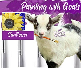 Painting with Goats: Sunflower! tickets
