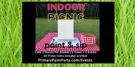 Indoor Picnic - Paint & Sip tickets