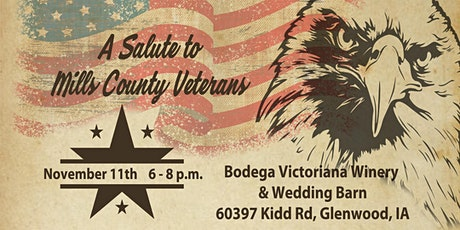 A Salute to Mills County Veterans tickets