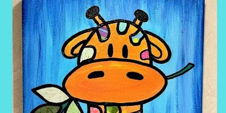 """GIRAFFE"" Mixed Media Painting Workshop tickets"