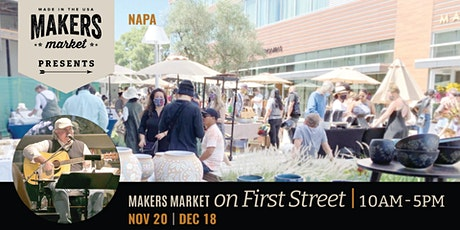 Makers Market on First Street tickets