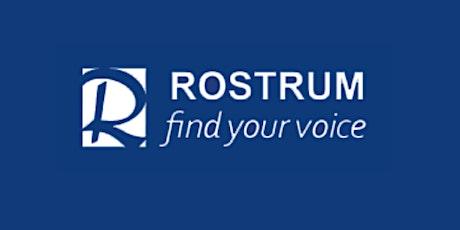 Queensland Rostrum Convention 2021 tickets