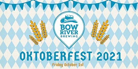 Bow River Brewing Oktoberfest 2021 tickets