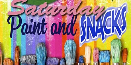 """PAINT & SNACK """"SATURDAY'S"""" tickets"""