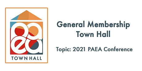 General Membership Town Hall tickets