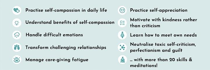 Mindful Self Compassion Session Online image